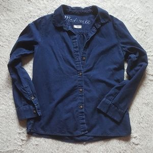 MADEWELL button down denim shirt Size Small